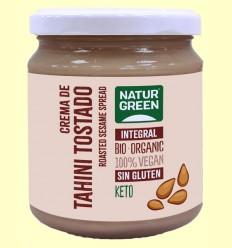 Tahin Puré Sésamo Tostado Bio - NaturGreen - 300 gramos