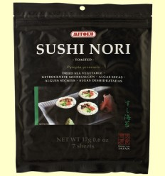 Nori Sushi - Mitoku - 17 gramos