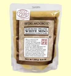 Miso Blanco Pasteurizado Orgánico - Mitoku - 250 gramos