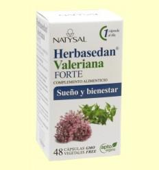 Herbasedan Valeriana Forte - Natysal - 48 cápsulas