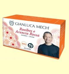 Infusión Rooibos Naranja Roja Bio - Gianluca Mech - 20 sobres