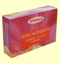 Rosa Mosqueta - Omega 3 6 9 - Integralia - 60 perlas