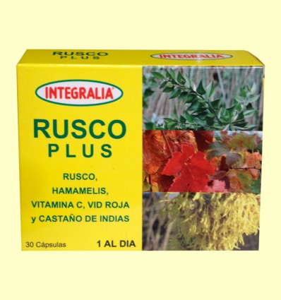 Rusco Plus - Integralia - 30 cápsulas