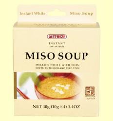 Sopa de Miso y Tofu - Mitoku - 40 gramos
