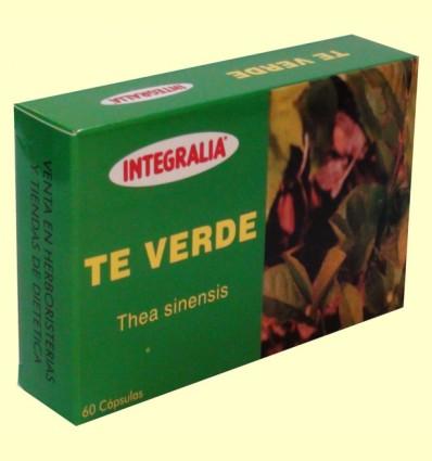 Té Verde - Integralia - 60 cápsulas