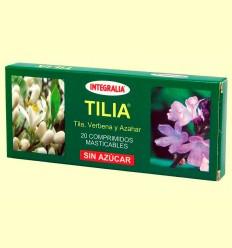 Tilia - Tila Verbena y Azahar - Integralia - 20 comprimidos