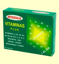 Vitaminas Plus - Integralia - 30 cápsulas