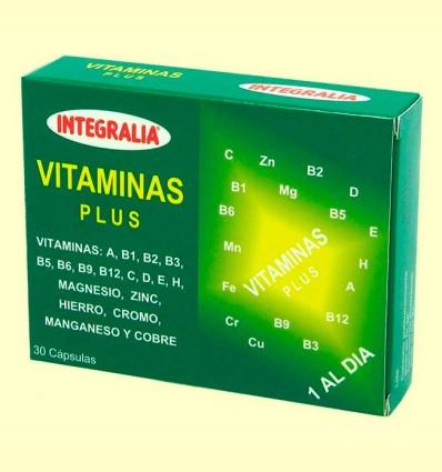 Vitaminas Plus - Integralia - 30 cápsulas