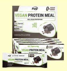 Vegan Protein Meal Chocolate Café - PWD - 12 barritas