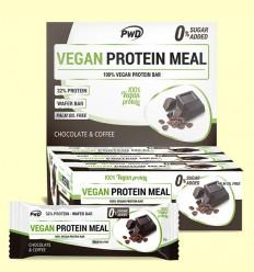 Vegan Protein Meal Chocolate Café - PWD - 12 barritas