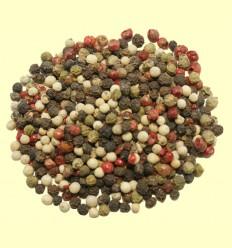 Pimienta cuatro variedades en grano entero