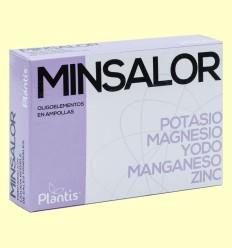 Minsalor - Plantis - 20 ampollas