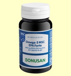 Omega 3 MSC EPA Forte - Bonusan - 30 cápsulas