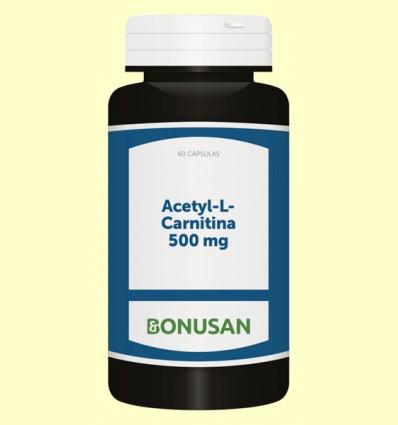Acetyl-L-Carnitina 500 mg - Bonusan - 60 cápsulas