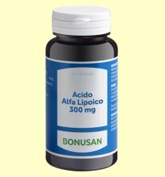 Ácido Alfa Lipoico 300 mg - Bonusan - 60 cápsulas