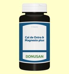 Cal de Ostra + Magnesio Plus - Bonusan - 70 tabletas