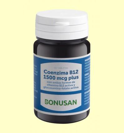 Coenzima B12 1500 mcg Plus - Bonusan - 90 tabletas