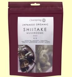 Hongos Shiitake Japoneses orgánicos - Clearspring - 40 gramos