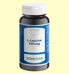 L Leucina 500 mg - Bonusan - 60 cápsulas