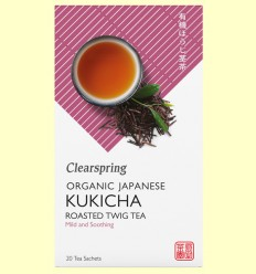 Té Kukicha - Clearspring - 20 filtros