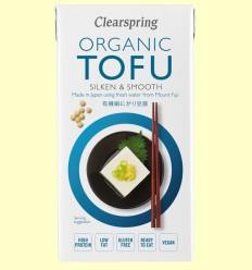 Tofu Japonés orgánico - Clearspring - 300 gramos