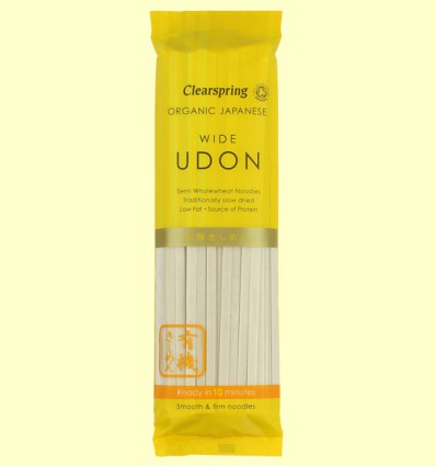 Udon Fideos Anchos - Clearspring - 200 gramos
