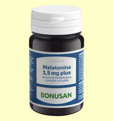 Melatonina 1,5 mg Plus - Bonusan - 90 tabletas