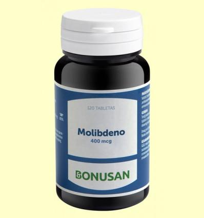 Molibdeno 400 mcg - Bonusan - 120 tabletas