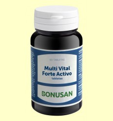 Multi Vital Forte Activo - Bonusan - 60 tabletas