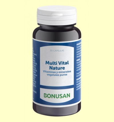 Multi Vital Nature - Bonusan - 30 cápsulas