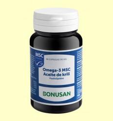 Omega 3 MSC Aceite de Krill - Bonusan - 60 cápsulas