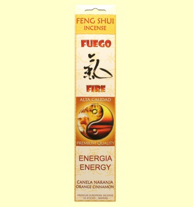 Incienso Feng Shui Fuego - Flaires - 16 barras