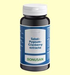 Sabal Pygeum Cranberry Extracto - Bonusan - 60 cápsulas