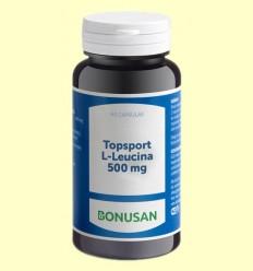 Topsport L Leucina 500 mg - Bonusan - 60 cápsulas