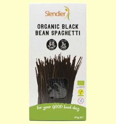 Espaguetis de Soja Negra - Slendier - 200 gramos