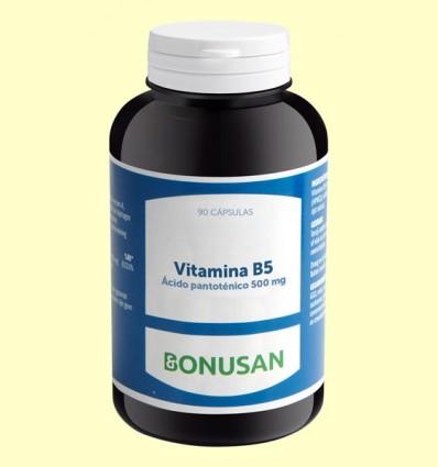 Vitamina B5 Pantoténico 500 mg - Bonusan - 90 tabletas