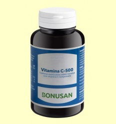 Vitamina C 500 Masticable - Bonusan - 60 tabletas