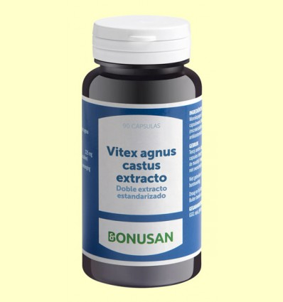 Vitex Agnus Castus Extracto - Bonusan - 90 cápsulas