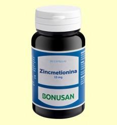 Zincmetionina 15 mg - Bonusan - 90 tabletas