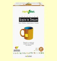 Infusión Herbodiet Vigila la Tensión - Novadiet - 20 bolsitas filtro