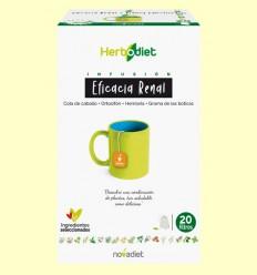 Infusión Herbodiet Eficacia Renal - Novadiet - 20 bolsitas filtro