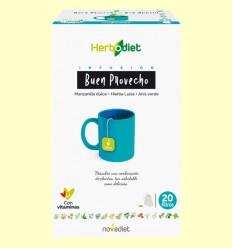 Infusión Herbodiet Buen Provecho - Novadiet - 20 bolsitas filtro