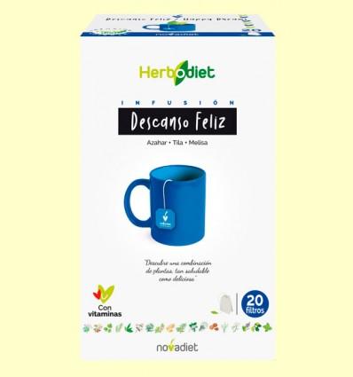 Infusión Herbodiet Descanso Feliz - Novadiet - 20 bolsitas filtro
