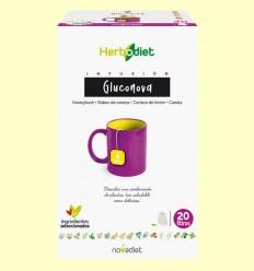 Infusión Herbodiet Gluconova - Novadiet - 20 bolsitas filtro