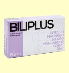 Biliplus - Oligoelementos - Plantis - 20 ampollas