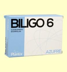 Biligo 6 Azufre - Plantis - 20 ampollas