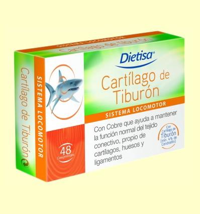 Cartílago de Tiburón - Dietisa - 48 comprimidos