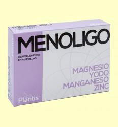Menoligo - Magnesio Yodo Manganeso y Zinc - Plantis - 20 ampollas