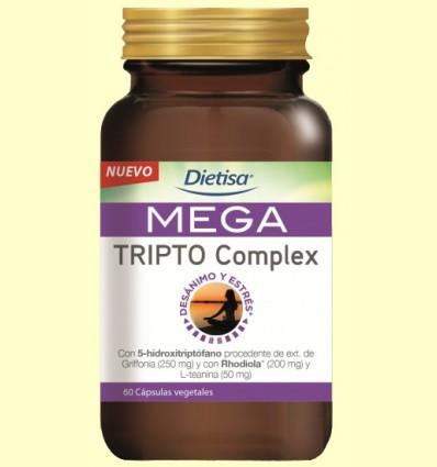 Mega Tripto Complex - Dietisa - 60 cápsulas