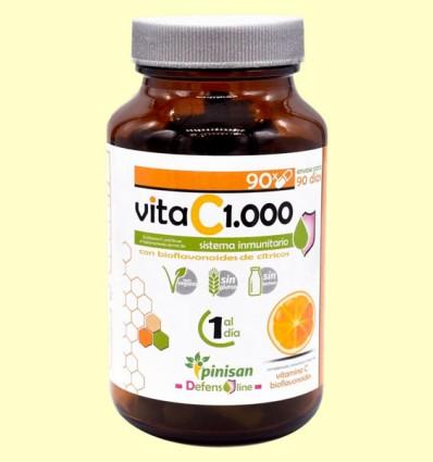 Vita C 1000 - Vitamina C - Pinisan Laboratorios - 90 cápsulas